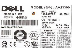 Dell Voeding Dell AA23300 500W