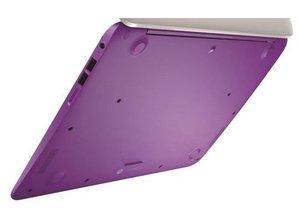 Hewlett Packard HP Stream 14-Z012ND bottom case / bazel purple