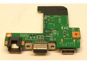 MSI LAN VGA USB BOARD for MS-16GBA