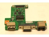 MSI laptop 16GBA I/O Board met LAN VGA & USB