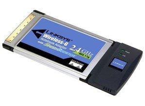 Linksys Linksys wireless-G notebook adapter