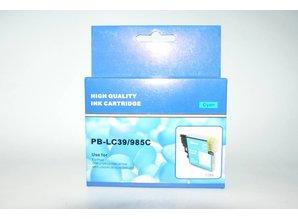 Brother vervangende inkt PB-LC39/985C cyaan