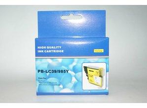 Brother vervangende inkt PB-LC39/985Y geel