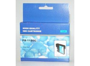 Brother vervangende inkt PB-1100C cyaan