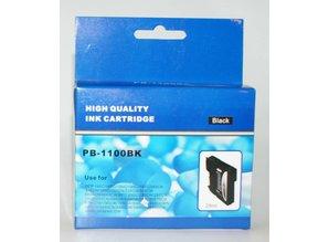 Brother vervangende inkt PB-1100BK zwart