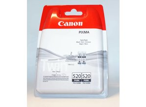 Canon 520 PGBK (PGI-520BK) inkt zwart 2x