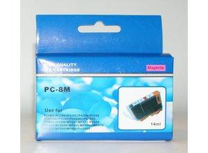 Canon vervangende inkt PC-8M magenta