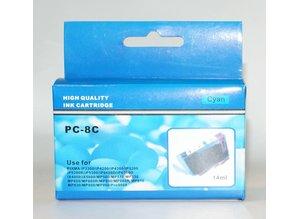 Canon vervangende inkt PC-8C cyaan
