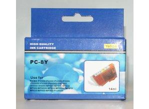 Canon vervangende inkt PC-8Y geel