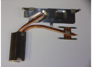 Sony Vaio VGN-NS Series Cooling Heatsink 023-0001-9139_A