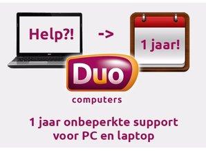 pc laptop ondersteuning 1 jaar onbeperkt support