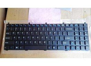 Terra Keyboard voor CLEVO en TERRA P150HM W150HR P170HM P180HM X7200 X8100 S510 C5101 W251EL W76TUN 141 Laptop IT Italian Black (K2881-IT)