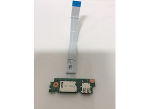 Dell Dell Inspiron 15-3000 P40F 0XP600 Laptop USB Card Reader Board/Ribbon F2-Y3-n23