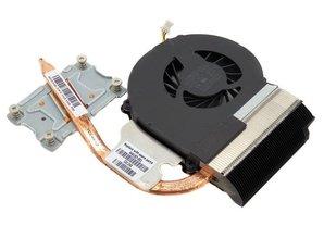 Hewlett Packard HP Compaq Laptopkoeler en heatsink CQ43 CQ57 2000