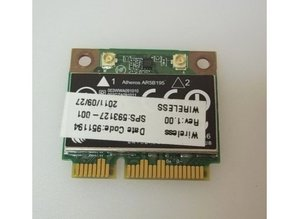 Hewlett Packard HP ProBook 4730s WIRELESS CARD 593127-001