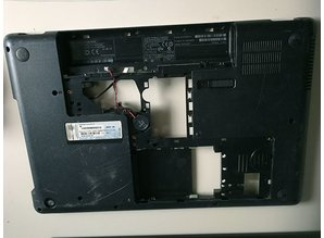 hp HP 606018-001 Laptop Bottom Bezel