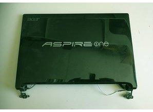 Acer Aspire One Top cover + scherm Zwart