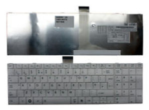 Toshiba Toshiba MP-11B96GB-5281 White UK Layout Replacement Laptop Keyboard