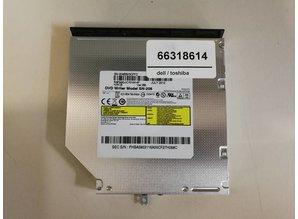 Toshiba Toshiba Samsung DVD speler - SN-208 208AB 208DB 8X DL DVD RW Burner Dual Layer DVD-R RAM Writer 24X CD-RW Recorder 12.7mm Tray-Loading Internal SATA Slim