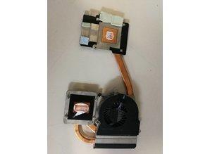 Hewlett Packard HP 652675-001 Thermische module notebook reserve-onderdeel
