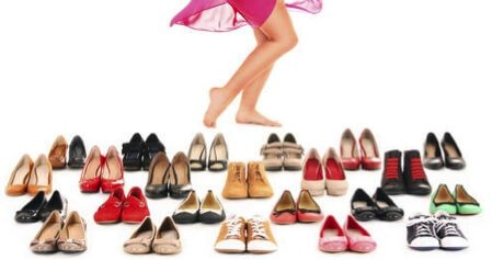 Schoenen onder jurkjes