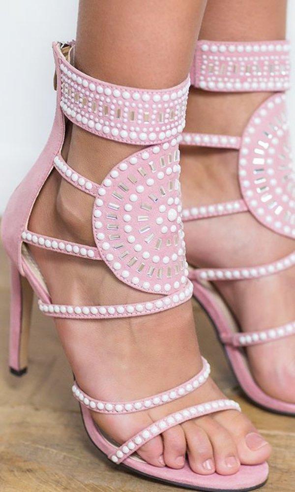 Power Heels Pink