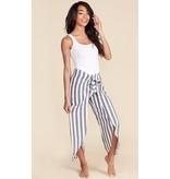 Striped Pants Grey