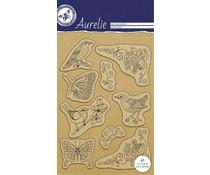 Aurelie Botanische Tuin 1 Clear Stamps (AUCS1001)