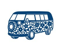 Tattered Lace Camper Van (ACD337)