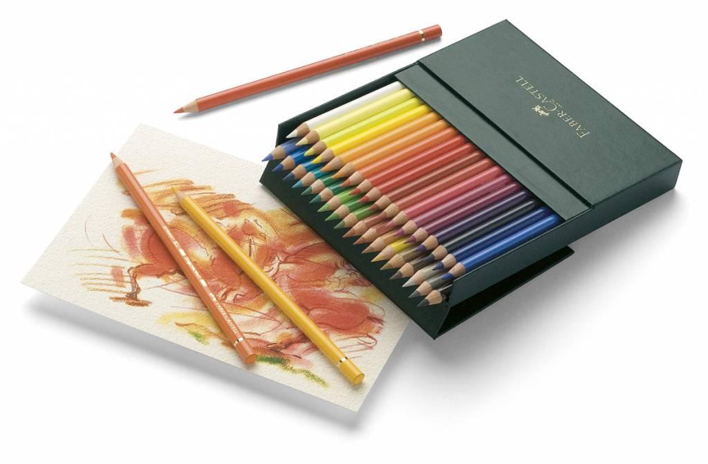 faber castell crayons de couleur polychromos ass 36. Black Bedroom Furniture Sets. Home Design Ideas