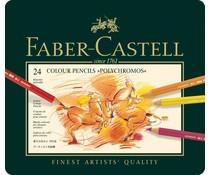 Faber Castell Crayons De Couleur Polychromos Ass. 24 Pièces (FC-110024)
