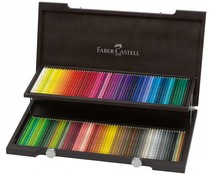 Faber Castell Color Crayon Polychromos Wooden Box 120 Pieces (FC-110013)