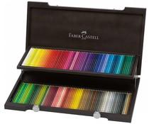 Faber Castell Color Crayon Polychromos Woodenl Box 120 Pieces (FC-110013)