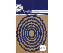 Aurelie Oval Scalloped Nesting Snij- & Embossingsmal (AUCD1012)