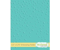 Taylored Expressions Snowfall Embossing Folder (TEEF09)