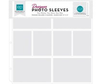 Echo Park Photo Sleeves 4x6 Inch & 3X4 Inch (10 pcs) (PFPS1004)