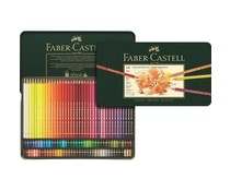 Faber Castell Color Crayon Polychromos Metal Box 120 Pieces (FC-110011)