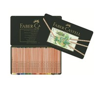 Faber Castell Pastel Pencil Pitt Metal Wallet With 36 Pieces (FC-112136)