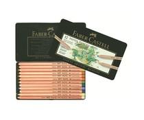 Faber Castell Crayon Pastel Pitt Etui Metalique 12 pcs (FC-112112)