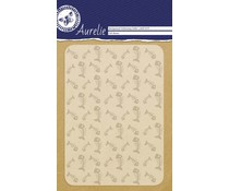Aurelie Fish Bones Background Embossing Folder (AUEF1019)