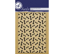 Aurelie Dog Bones Background Clear Stamp (AUCS1009)