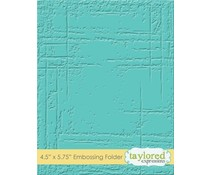 Taylored Expressions Weathered Embossing Folder (TEEF31)