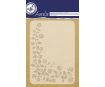 Aurelie Flower Festival Background Embossing Folder (AUEF1006)