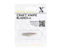 Xcut No. 1 Craft Knife Spare Blades (5pk) (XCU 255101)