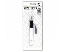 Xcut No. 1 Craft Knife (Kushgrip) (XCU 255100)