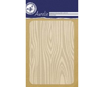 Aurelie Textured Wood Background Embossing Folder (AUEF1010)