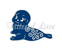 Tattered Lace Seal (D1006)