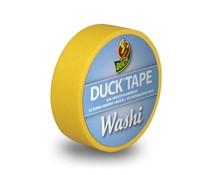 DuckTape Washi Bright Yellow 15 mm x 10 m (104-17)