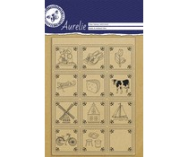Aurelie Tiles Clear Stamps (AUCS1020)