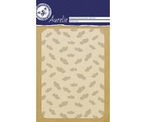 Aurelie Wooden Shoes Background Embossing Folder (AUEF1022)